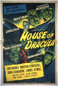 239 HOUSE OF DRACULA 1sheet