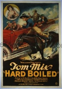 204 HARD BOILED ('26) linen 1sheet
