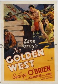 319 GOLDEN WEST linen 1sheet