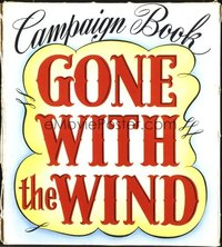 143 GONE WITH THE WIND pressbook
