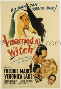 366 I MARRIED A WITCH 1sheet
