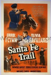 322 SANTA FE TRAIL ('40) linen 1sheet