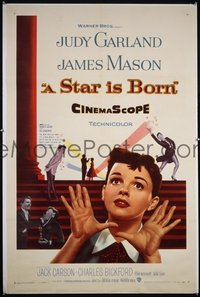 116 STAR IS BORN ('54) linen 1sheet