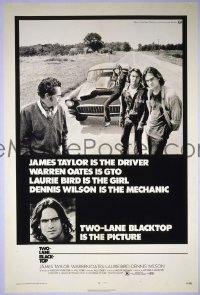 #061 2-LANE BLACKTOP 1sh '71 James Taylor