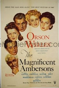 038 MAGNIFICENT AMBERSONS 1sheet