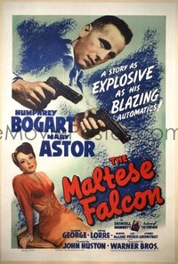 619 MALTESE FALCON ('41) linen 1sheet