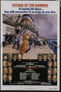 #249 VOYAGE OF THE DAMNED 1sh '76 Dunaway