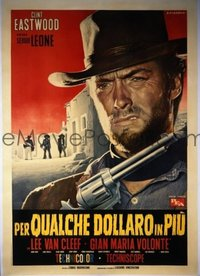 342 FOR A FEW DOLLARS MORE linen Italian 2p '65