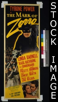 MARK OF ZORRO ('40) insert