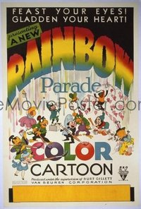 180 RAINBOW PARADE linen 1sheet