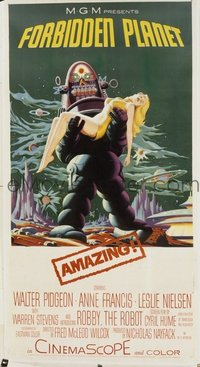 221 FORBIDDEN PLANET linen 3sh
