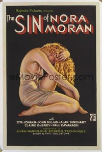 062 SIN OF NORA MORAN 1sheet