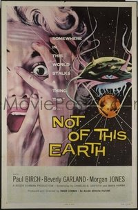 070 NOT OF THIS EARTH ('57) 1sheet