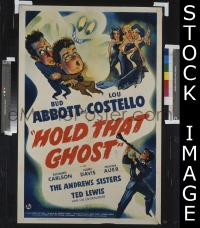 HOLD THAT GHOST 1sheet