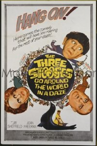 #064 3 STOOGES GO AROUND THE WORLD IN A DAZE