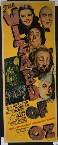 v404 WIZARD OF OZ ('39)  insert '39 all-time classic!
