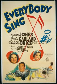 EVERYBODY SING 1sheet