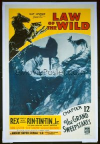 019 LAW OF THE WILD ('34) CH12, linen 1sheet