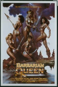 BARBARIAN QUEEN 1sheet
