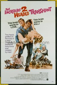 INCREDIBLE 2 HEADED TRANSPLANT 1sheet