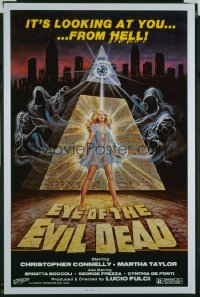 EYE OF THE EVIL DEAD 1sheet
