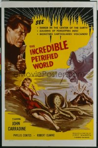 INCREDIBLE PETRIFIED WORLD 1sheet