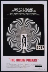COLOSSUS: THE FORBIN PROJECT 1sheet