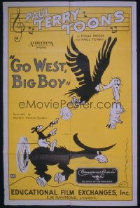 GO WEST BIG BOY 1sheet