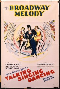 BROADWAY MELODY 1sheet