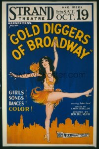 GOLD DIGGERS OF BROADWAY WC