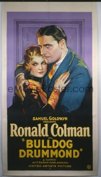 BULLDOG DRUMMOND ('29) 3sh