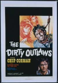 DIRTY OUTLAWS 1sheet