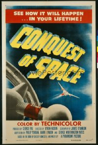 CONQUEST OF SPACE 1sheet