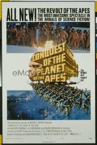 CONQUEST OF THE PLANET OF THE APES 1sheet