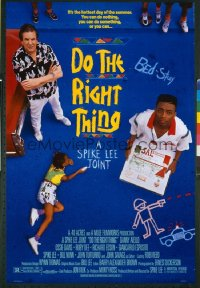 DO THE RIGHT THING  1sheet