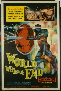WORLD WITHOUT END ('56) 1sheet