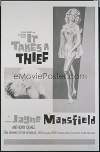 IT TAKES A THIEF 1sheet
