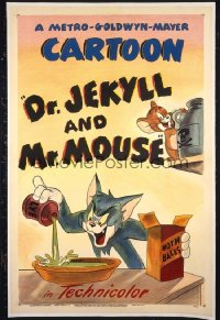 DOCTOR JEKYLL & MR MOUSE 1sheet