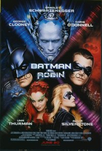 BATMAN & ROBIN ('97) 1sheet