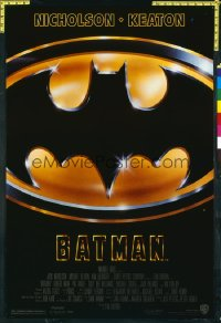 BATMAN ('89) 1sheet
