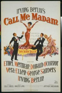 CALL ME MADAM 1sheet