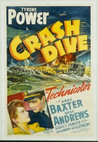 CRASH DIVE 1sheet