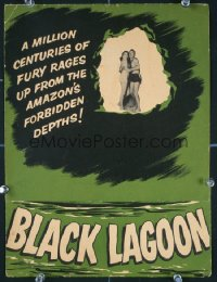 017 CREATURE FROM THE BLACK LAGOON promo brochure