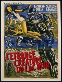 CREATURE FROM THE BLACK LAGOON French