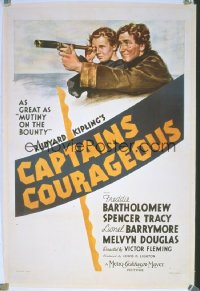 CAPTAINS COURAGEOUS 1sheet