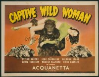 CAPTIVE WILD WOMAN TC LC