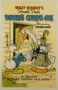 DONALD'S COUSIN GUS 1sheet