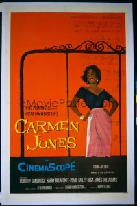 CARMEN JONES 1sheet