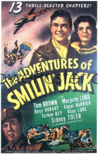 ADVENTURES OF SMILIN' JACK 1sheet