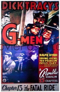 DICK TRACY'S G-MEN CH13 1sheet